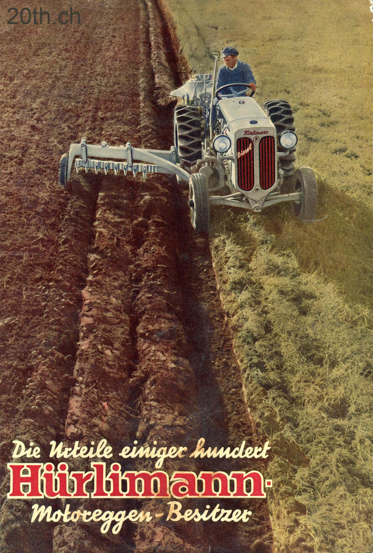 Hurlimann Tracteur Ancien