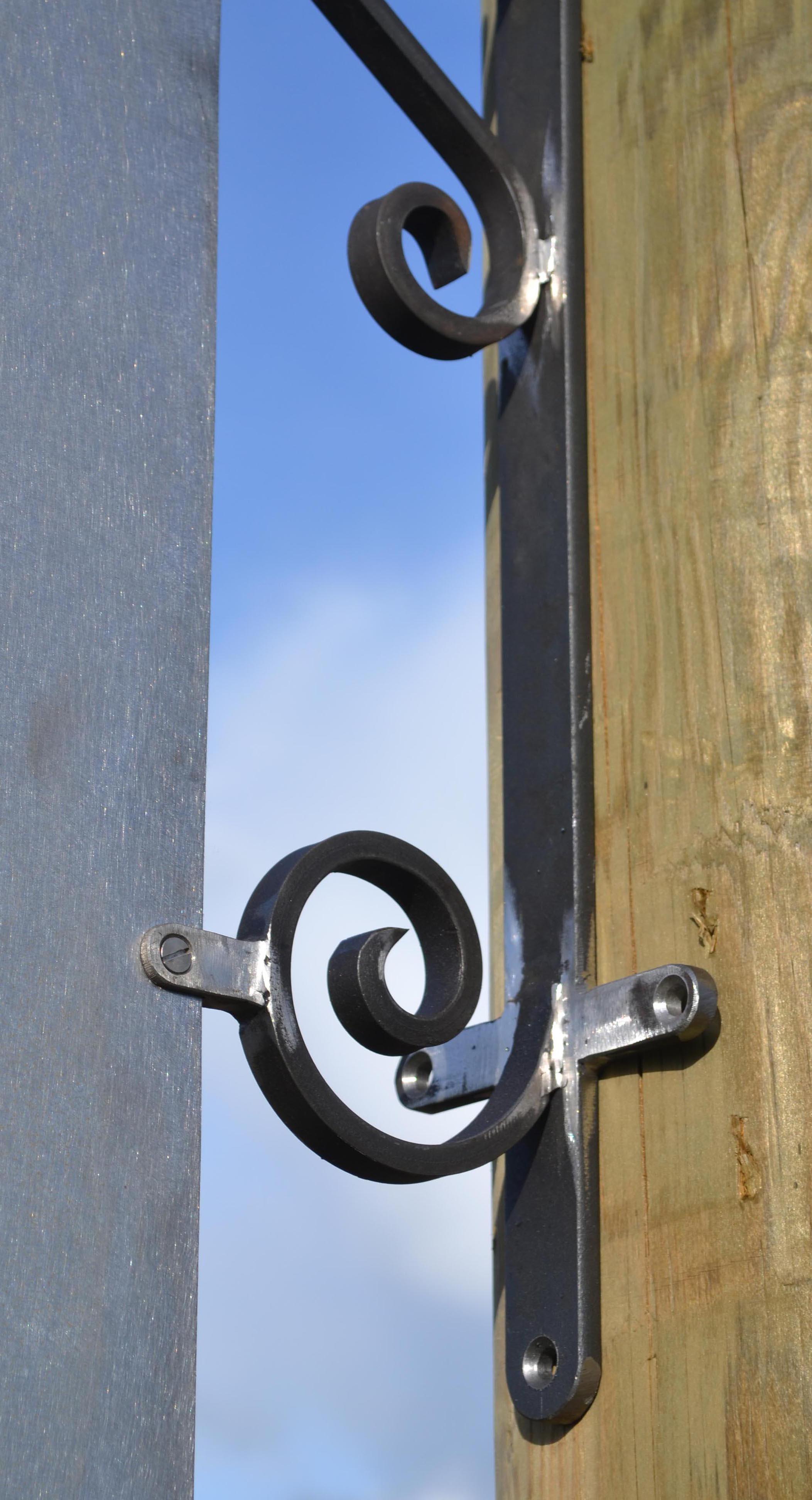 Fabrication d 39 enseignes et potences en fer forg l 39 ancienne style classique - Tole acier 2mm ...