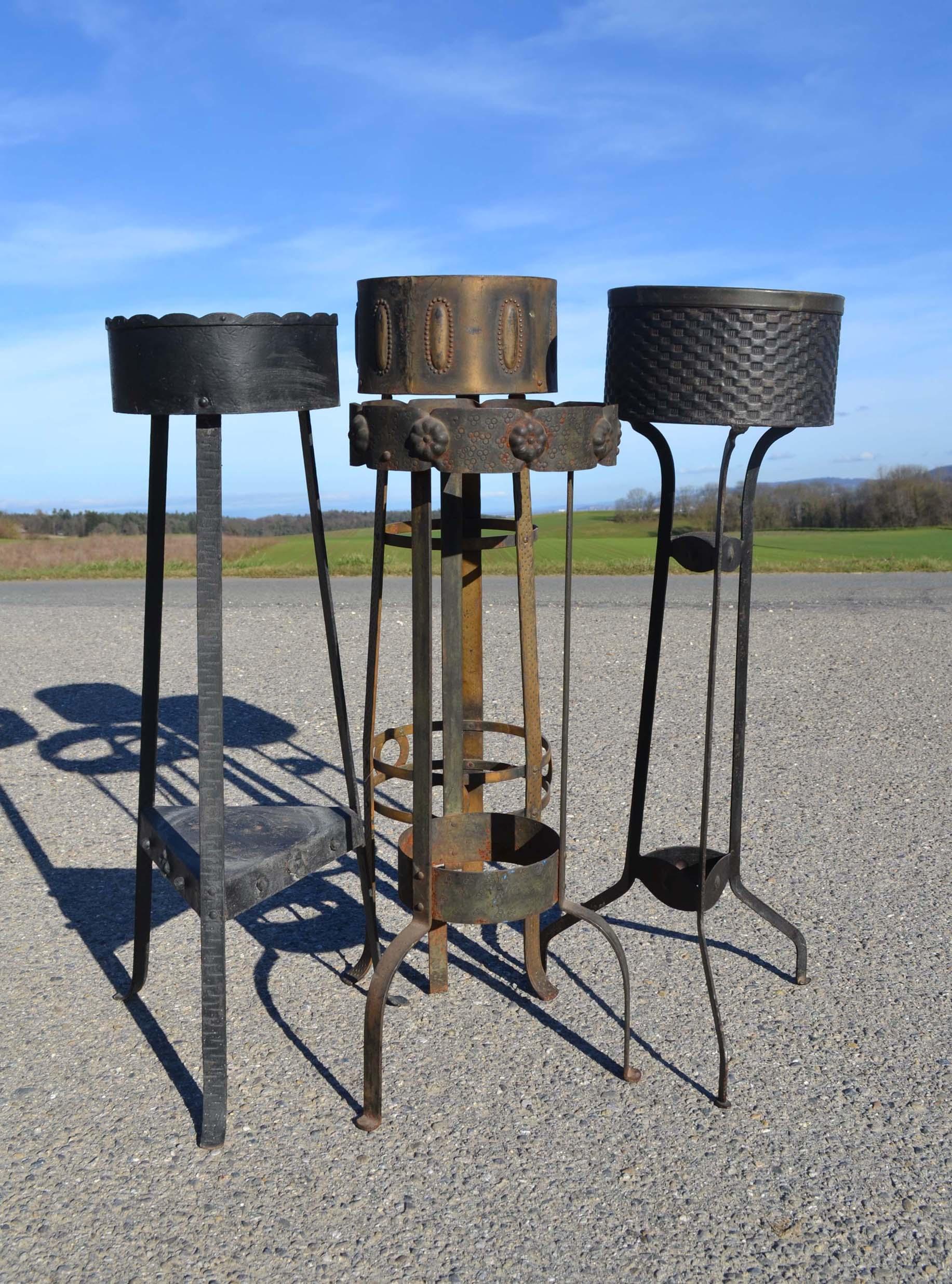 mobilier de jardin ancien et objets en fer brocante d co jardin. Black Bedroom Furniture Sets. Home Design Ideas