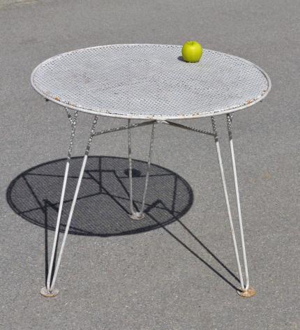 Mobilier de jardin vintage Mini table jardin